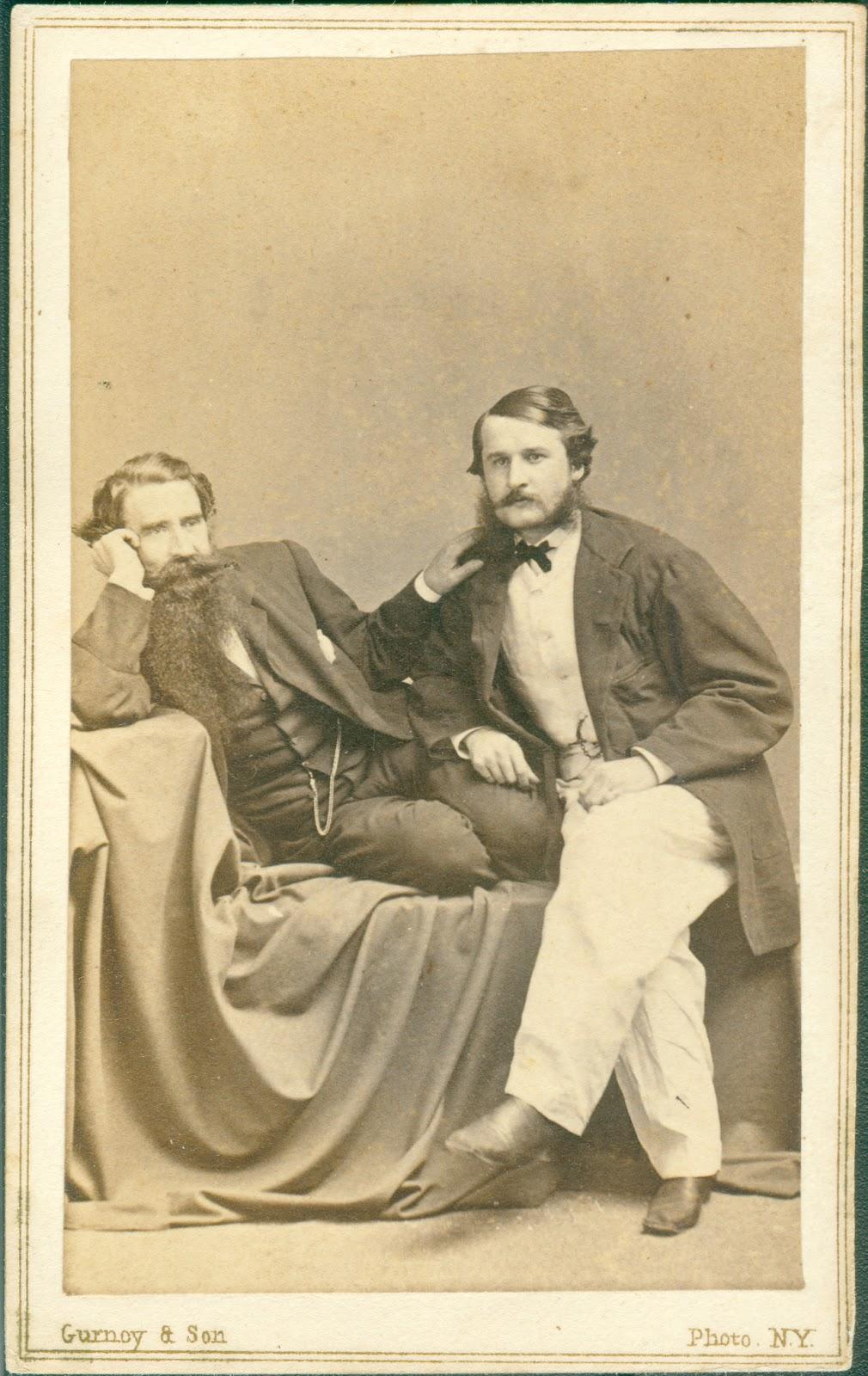 Jeremiah Gurney And Ben Carte De Visite Ca 1862 Courtesy Of Armand Gregoris