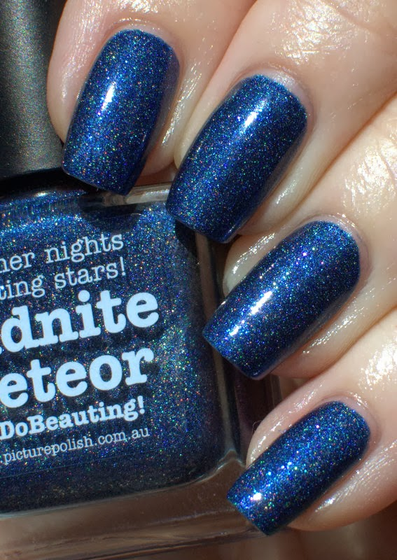 Picture Polish Midnight Meteor