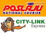 We Use POSLAJU or CITY-LINK EXPRESS for Shipping within Malaysia