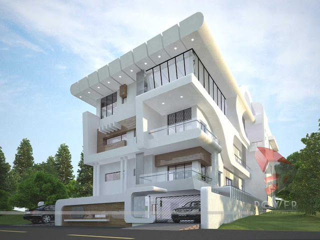 Exterior Eye Level Renderings company,Architectural Photorealistic design