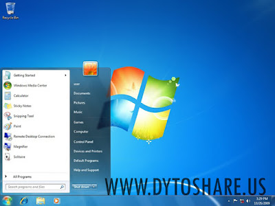 Windows 7 Ultimate SP1 Update Agustus 2015