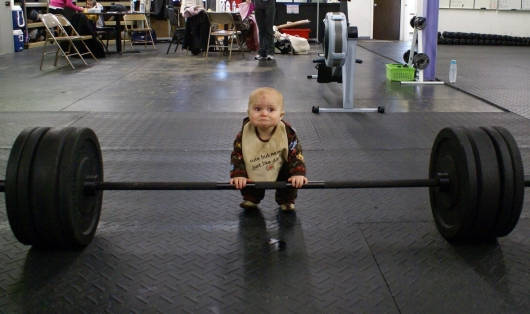 Baby Weight Lifter