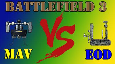 Quien ganará el Mav o el Robot EOD?