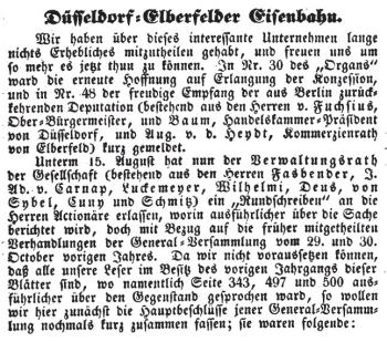 Beilage Nr. 69 d. Allg. Organs f. Handel u. Gewerbe. Köln, 28. August 1836