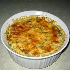 Creamy Crab & Cheese Casserole