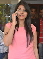 Anjali latest Look Photos in Pink Top