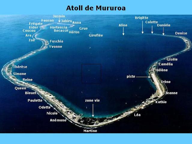 1965: Opération Sailor Hat, l'US NAVY joua a la fin du monde MURUROA+2
