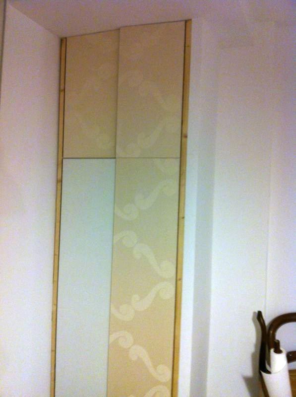 Naifandtastic decoraci n craft hecho a mano for Como empapelar puertas