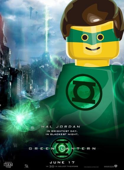 Lego -  Green Lantern