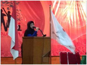Rossana Listanto (Mbak Yos) Ketua Umum Oi 2013-2017. Musyawarah Nasional Ormas Oi ke 5