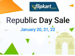FlipKart Republic Day Sale (from January 20th – 22nd)