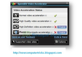Speed bit video accelerator.