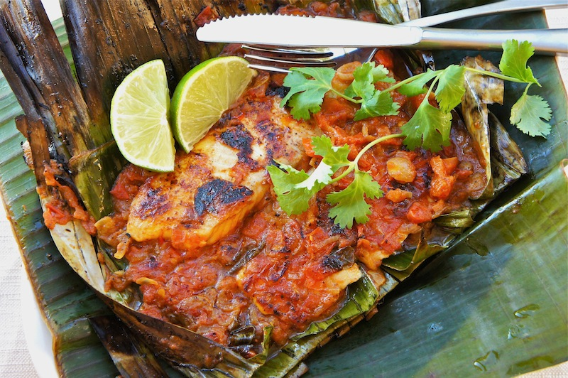... fish dish a simply delicious grilled fish in banana leaves recipe it s
