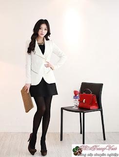 hợp với kiểu áo vest nữ công sở ~ Thời Trang Vest | Vest
