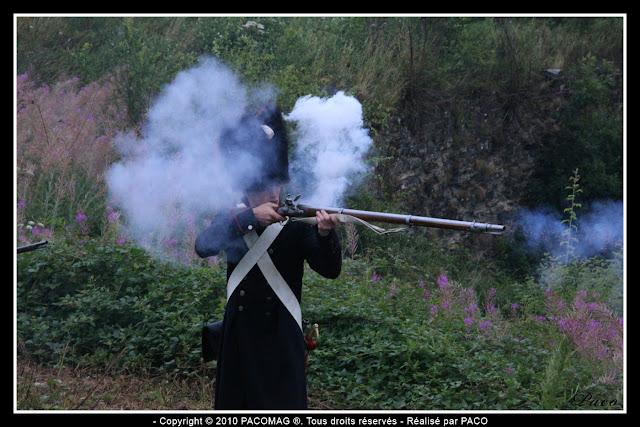 détail d'une épée d'un soldats lors de la Reconstitution du bicentenaire du siège de rocroi