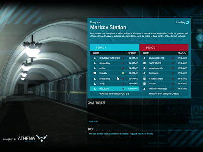 Ghost Recon Online - Markov Station Loading Screen