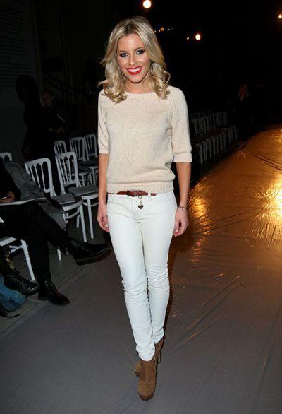 Consejos para usar pantalones blancos
