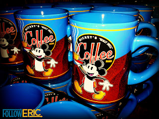 Mickey's Coffee Brand souvenir mug from DIsneyland California