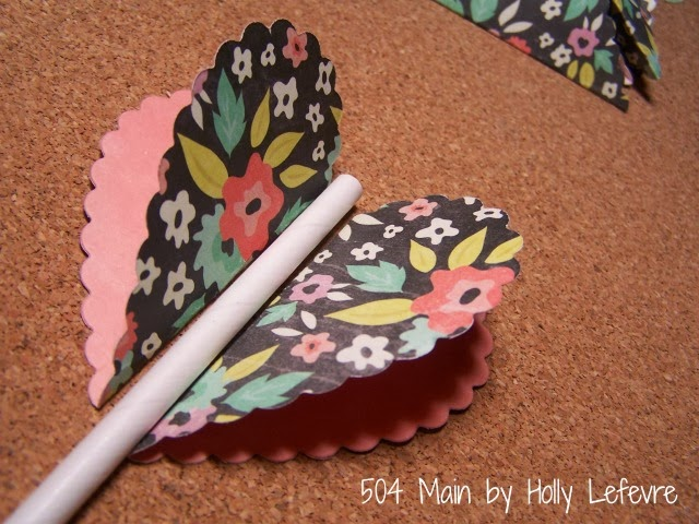 Paper Cake Toppers by 504 Main