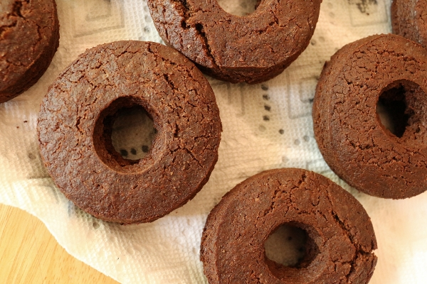 chocolate cake doughnuts or chocolate glazed doughnuts if you will