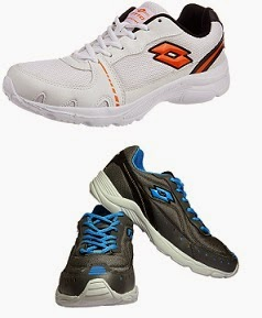 Flat 70% Off on Men's Lotto Shoes starts Rs.509 Only@ Amazon
