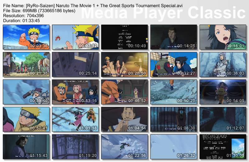 Naruto The Movie 1 : Ninja Clash in The Land of Snow ~ Go...