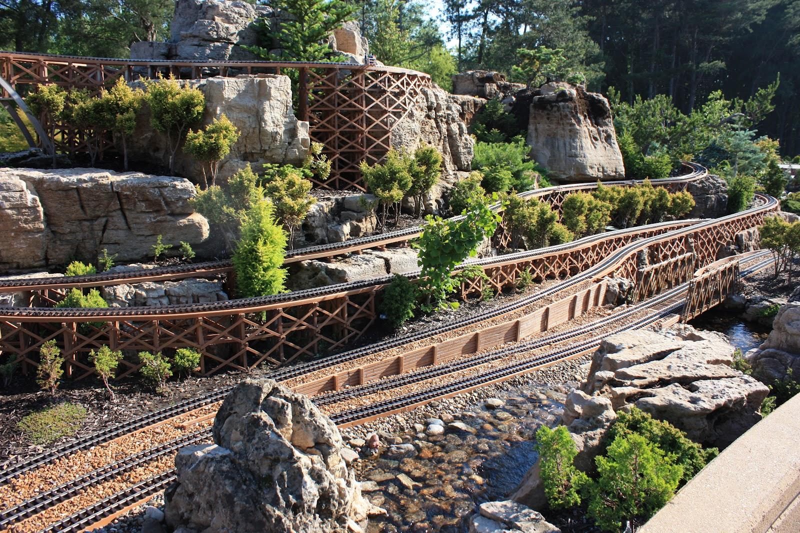 Garden railway layouts garden railways big sky garden for Garden railway designs