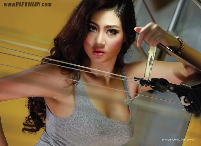 Shwe Poe Eain - Shoot Me Hit Me Love Me
