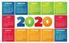 2020 年度行事曆
