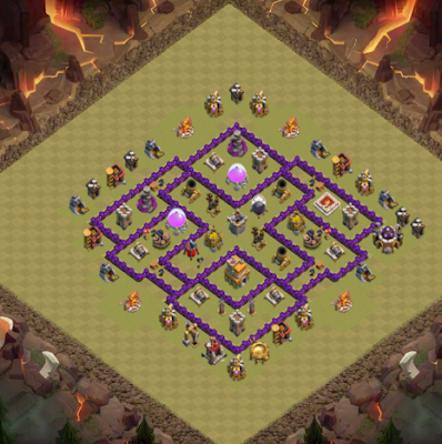 war base TH7 dengan Air Sweeper