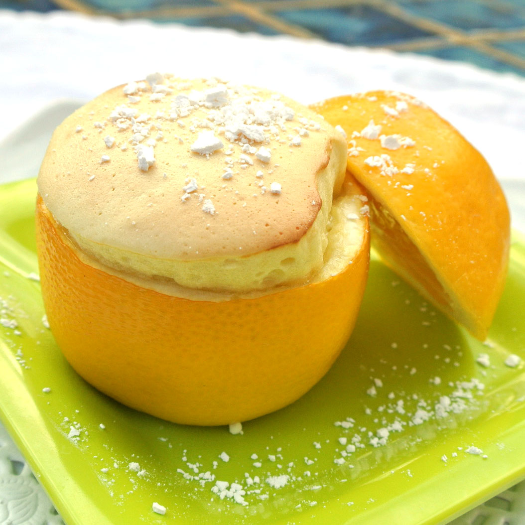 ... lemon souffles make a really cute dessert that your lover will