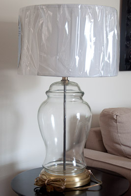 shared and doubled diy mercury glass lamps. Black Bedroom Furniture Sets. Home Design Ideas