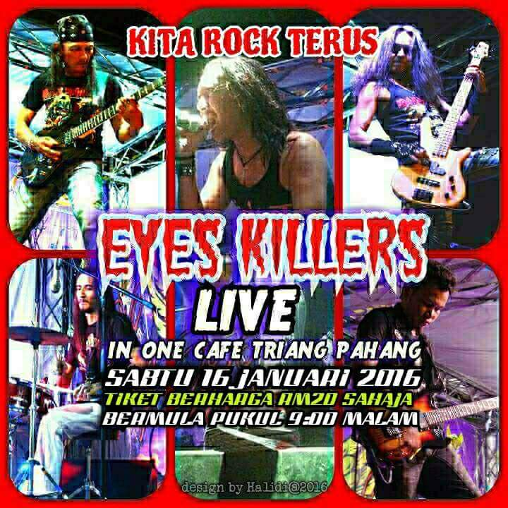 Event Eyes Killers Live Kita Rock Terus 2016