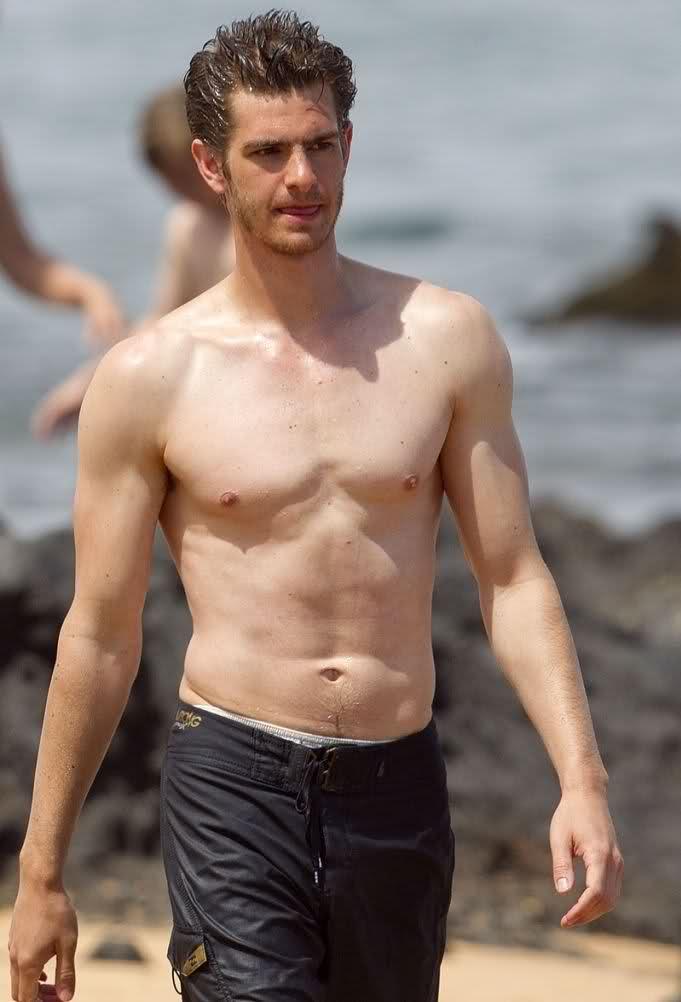andrew garfield shirtless