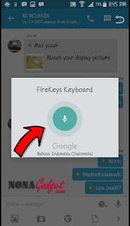cara meggunakan google voice typing