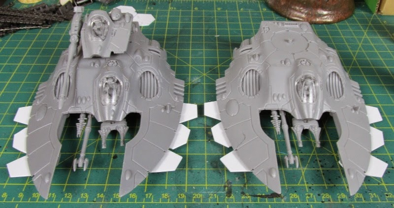 How to Lose at 40k*'**/WIP'R'Us: Making Wave Serpents, How to