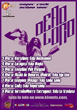 Gira por España de Dear Lord en marzo