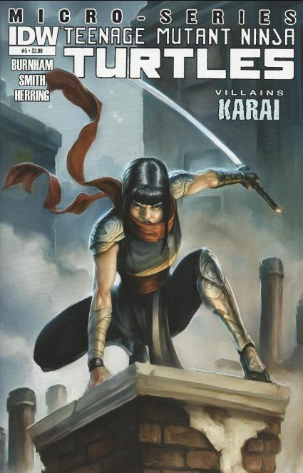 tmnt entity tmnt villains micro series 5 karai