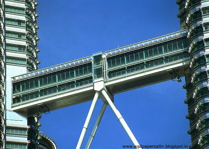 skybridge of petronas twin tower