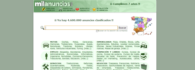 Paginas de anuncios gratis blog pagina de anuncios clasificados milanuncios - Milanuncios de casas ...