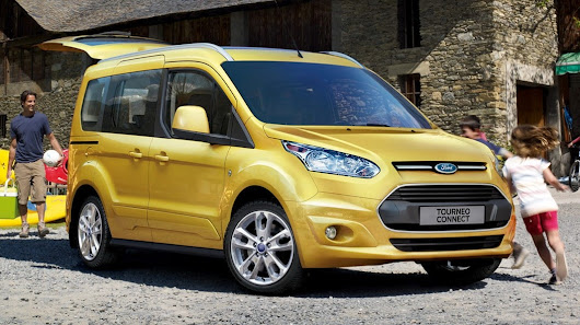 2014 Ford Transit Connect ve Tourneo Connect markanın Amsterdam'da