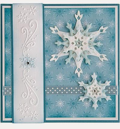 Stansmal Snow Crystal van Leane Creatief