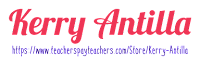 https://www.teacherspayteachers.com/Store/Kerry-Antilla