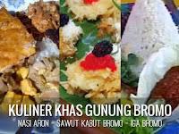 makanan khas dan oleh-oleh wisata gunung bromo