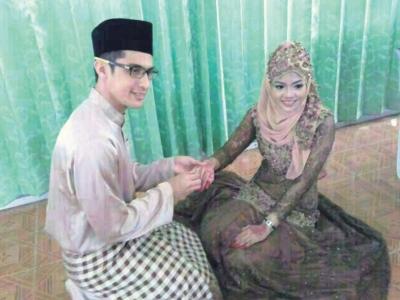 Gambar Perkahwinan Kedua Ashraf Muslim Dan Sakinah Tersebar