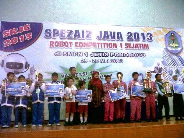 Lagi! SDMT Raih Juara I Robotika