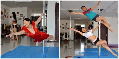 Nenek 65 Tahun Yang Masih Lincah Bermain Pole Dancer