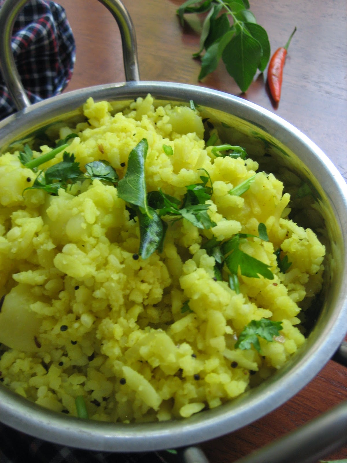 poha with potaoes 1
