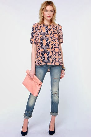 Tribal Patterns & Soft Washed Denim
