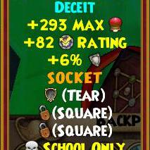 Wizard101 Polaris Best Gear Drops - Rasputin Amulets